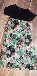 B. Smart floral dress